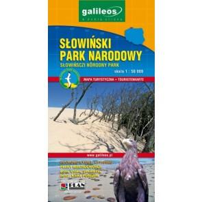 Toeristenkaart Słowiński Park Narodowy 1:50.000