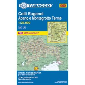 Wandel- fietskaart Colli Euganei Blad 060 / 1:25.000 (GPS)