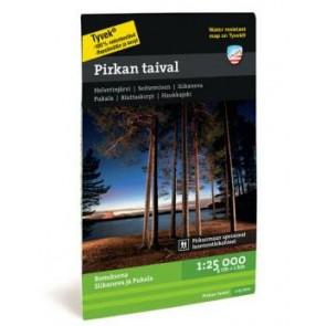 Wandelkaart Finland: Seitseminen Helvetinjärvi Pirkal taival 1:25.000