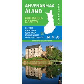 Toeristenkaart Åland/Ahvenanmaa 1:150.000 (2014)