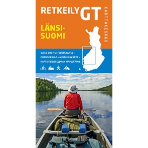 Outdoor Map GT Länsi-Suomi (West Finland) 1:250.000 (2015)