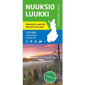 Outdoor Map Nuuksio Luukki 1:20.000 (2016)