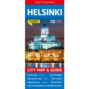 City Map & Guide Helsinki 1:15.000/1:5000