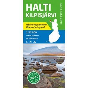 Outdoor Map Halti Kilpisjärvi 1:50.000 (2019)
