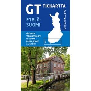GT Tiekartta Etelä-Suomi (Zuid Finland) 1:250.000