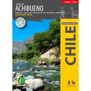 Trekking kaart Achibueno 1:50.000