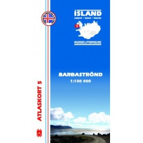 Topografische Kaart IJsland Atlaskort 21 - Myvatnsöraefi 1:100.000
