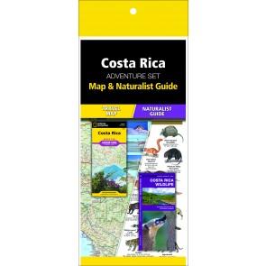 Costa Rica Adventure Set (Map & Naturalist Guide)