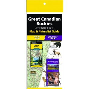 Great Canadian Rockies Adventure Set (Map & Naturalist Guide)