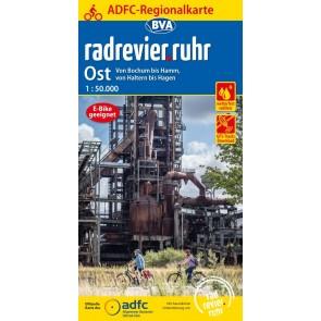 Fietskaart BVA- Radrevier-Ruhr Ost 1:50.000