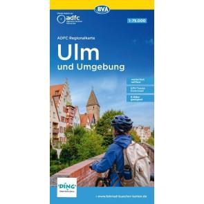 BVA Regionalkarte Ulm und Umgebung 1:75.000