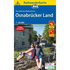 Fietskaart BVA-ADFC Radwanderkarte Osnabrückerland 1:60.000