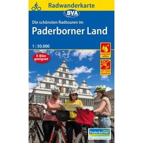 BVA Fietskaart Paderborner Land 1:50.000