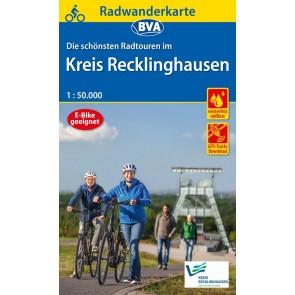 BVA Fietskaart Kreis Recklinghausen 1:50.000
