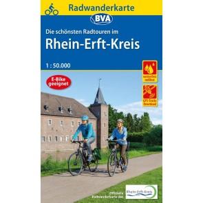 Fietskaart BVA-Radwanderkarte Rhein-Erft-Kreis 1:50.000
