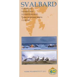 Tourist Map Svalbard - Spitsbergen 1:1m (2015)