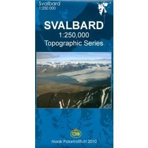 Svalbard Nord 1:250.000 (Blad 3)