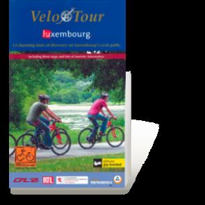 Velo Tour Luxembourg (13 routes) boek + 3 kaarten (duits)